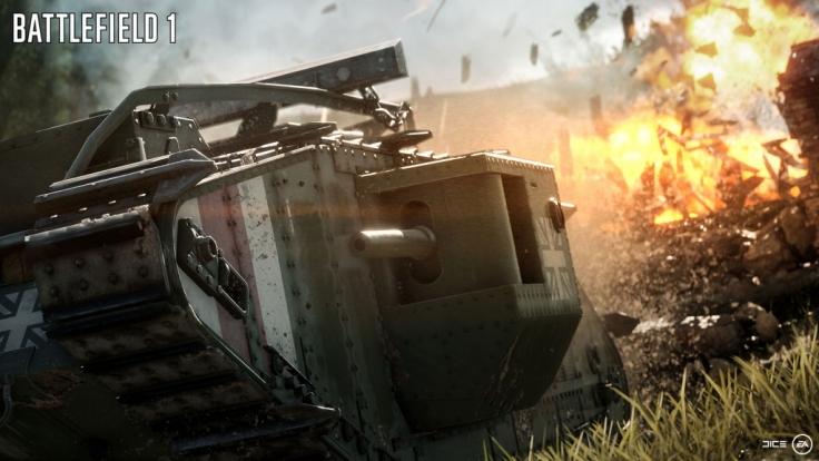 """Der Einzelspieler ist dabei in sogenannte Kriegsgeschichten unterteilt. Einer der Höhepunkte ist dabei die Story """"Durch Blut und Morast"""", in der man mit einer Panzerbesatzung hinter den feindlichen Linien ums Überleben kämpft. (Foto)"""