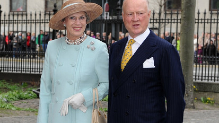 Prinz Richard zu Sayn-Wittgenstein-Berleburg, hier an der Seite seiner Ehefrau Prinzessin Benedikte, ist im Alter von 82 Jahren gestorben.