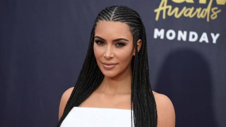 Kim Kardashian verwöhnte ihre Fans mit einem heißen Unterwäsche-Bild auf Instagram. (Foto)