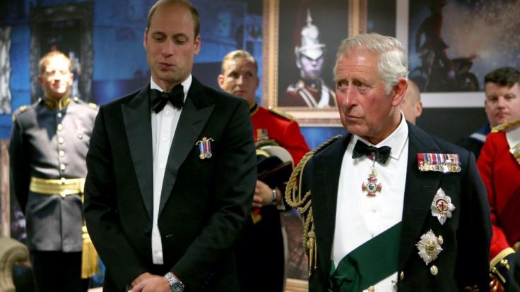 Prinz Charles wartet länger als jeder andere Thronfolge vor ihm auf sein royales Erbe - doch wird letztlich sein Sohn Prinz Willam der nächste König Englands? (Foto)
