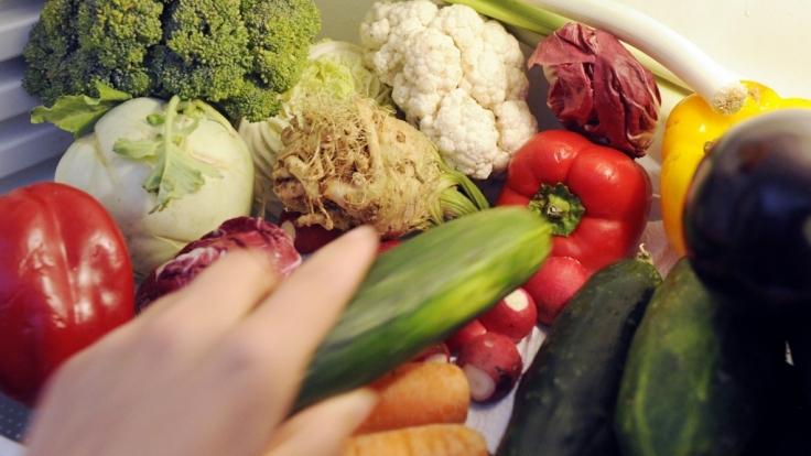 Gemüse ist mein Fleisch: Vegetarier sein ist hip. (Foto)