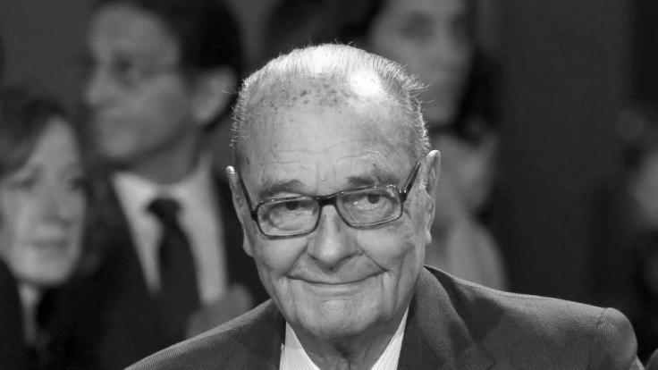 Der ehemalige französische Staatspräsident Jacques Chirac ist tot. (Foto)
