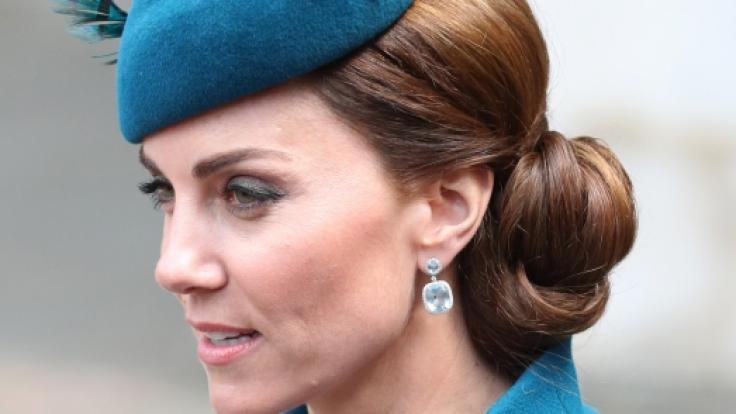 Zu Erinnerung: So sieht Kate Middleton eigentlich aus.