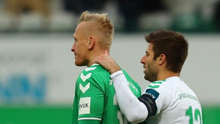 Heimspiel SpVgg Greuther Fürth: Die aktuellen Spielergebnisse der 2. Fußball-Bundesliga bei news.de. (Foto)