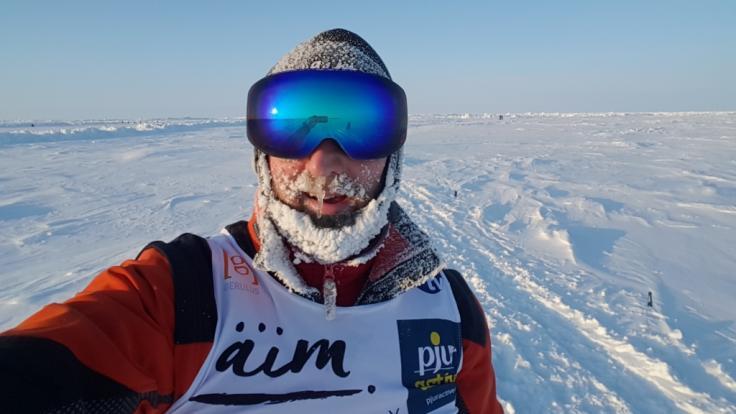 Clemens in der Arktis