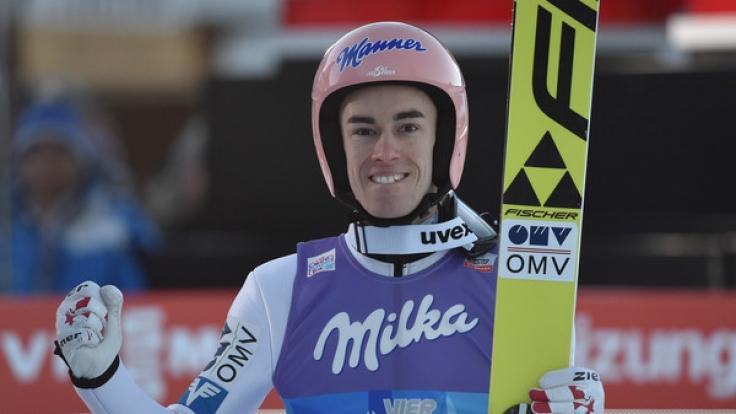 Stefan Kraft gewinnt die Vierschanzentournee 2017. (Foto)