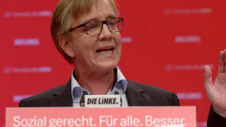 Linke-Fraktionschef Dietmar Bartsch; Foto: Peter Endig (Foto)