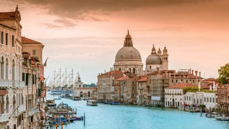 Venedig trocknet aus. (Foto)
