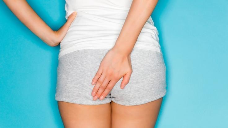 Reinigung vor analsex