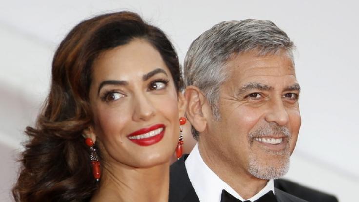 Erwarten George und Amal Clooney Zwillinge?