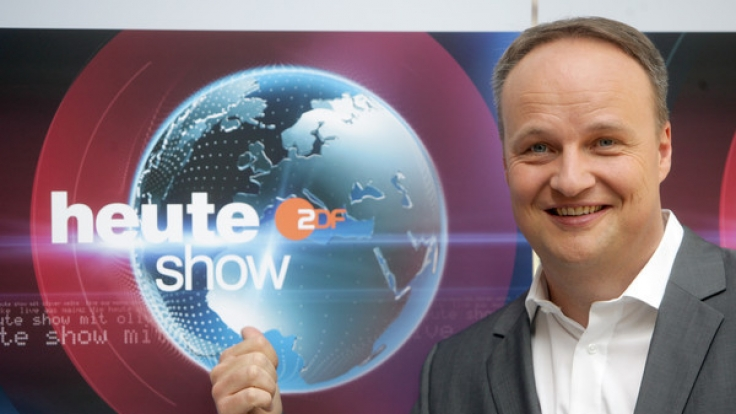 "Oliver Welke präsentiert die ""heute-show"". (Foto)"