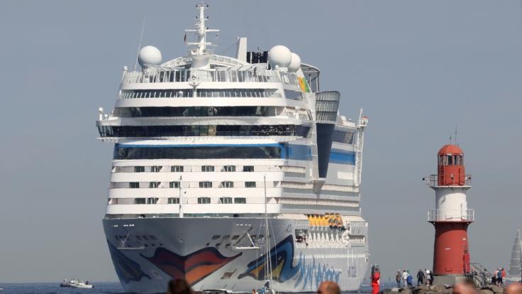 Crewmitglieder der Aida wurden positiv auf Corona getestet. (Foto)