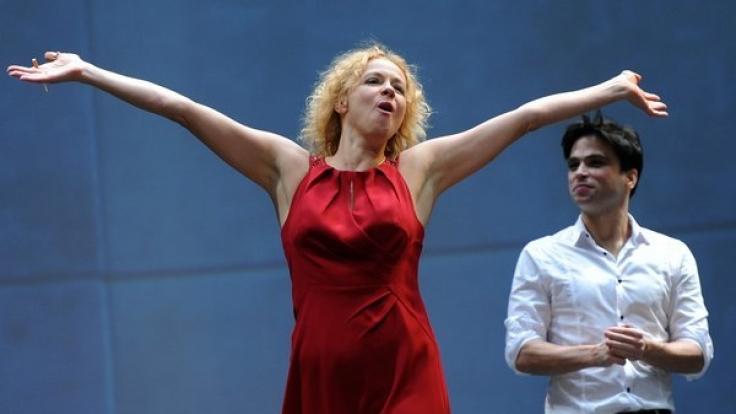 """Schauspieler Karim Cherif stand bereits mit Katja Riemann für das Stück """"Wer hat Angst vor Virginia Woolf?"""" in Berlin auf der Bühne. (Foto)"""