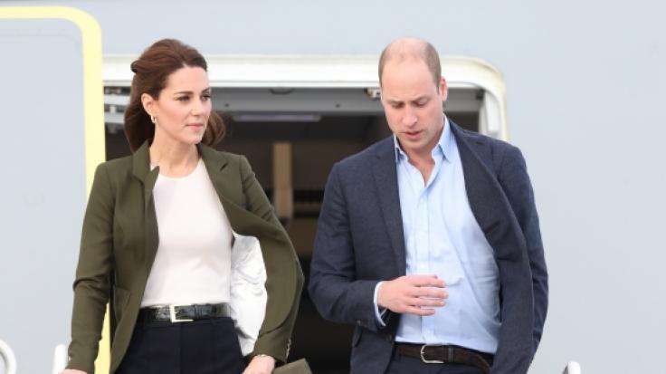 Kate Middleton und Prinz William entgingen offenbar nur knapp einer Katastrophe.