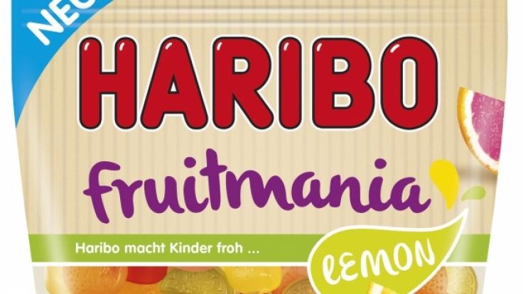 Das ist das neue vegetarische Produkt von Haribo mit dem zertifizierten V-Label.