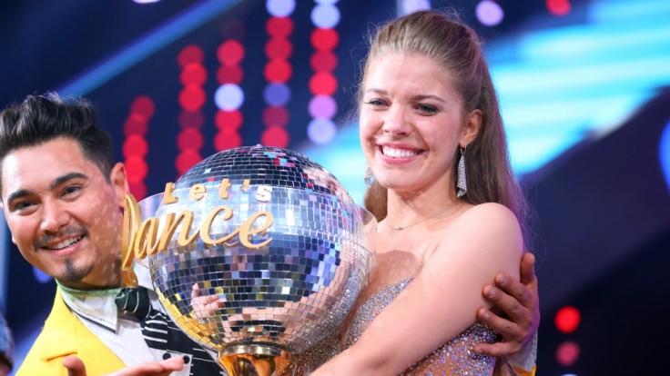"""Victoria Swarovski und Erich Klann siegten bei """"Let's Dance"""" 2016. (Foto)"""