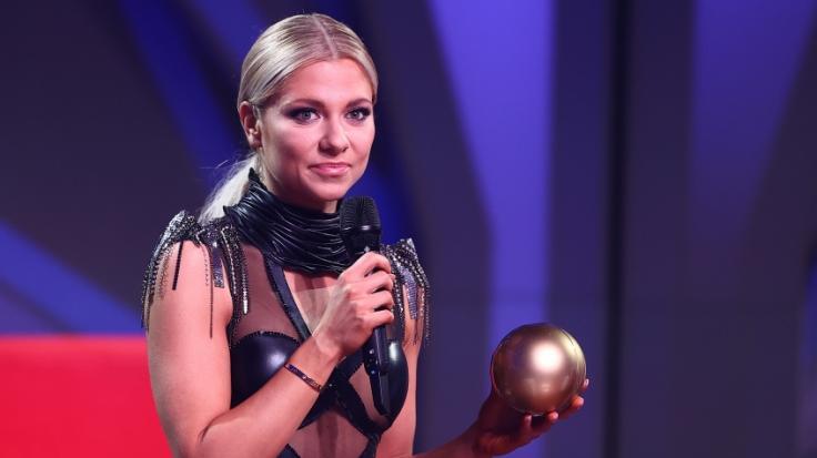 Valentina Pahde verzückt ihre Fans mit einem Bikini-Schnappschuss aus Griechenland. (Foto)