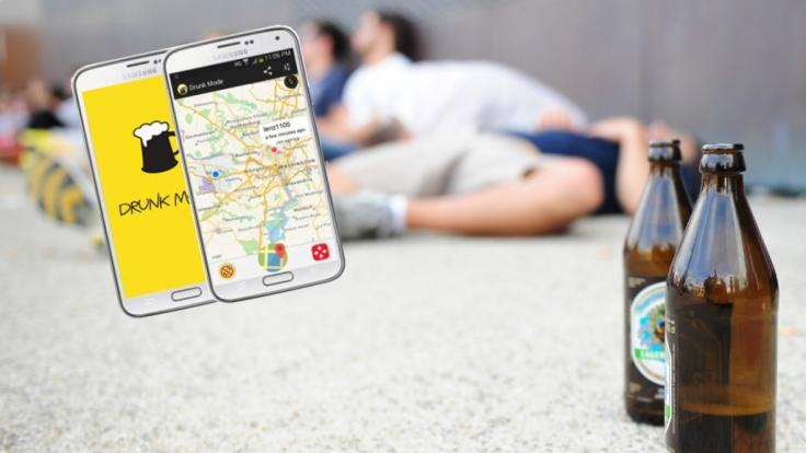 """Die """"Drunk-Mode-App"""" hat viele Vorteile: Sie bewahrt vor peinlichen Anrufen und hilft, Freunde im Feiergetümmel wiederzufinden. (Foto)"""