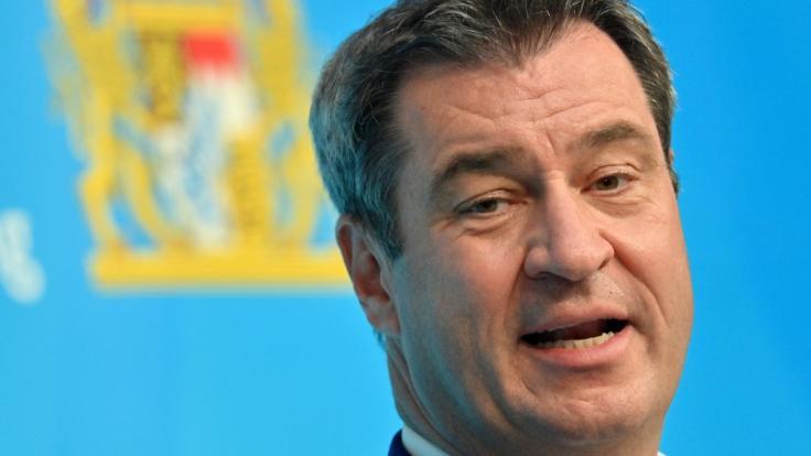 Markus Söder (CSU), Ministerpräsident von Bayern. (Foto)