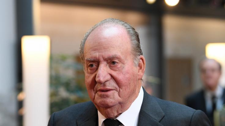 Juan Carlos I., Altkönig von Spanien