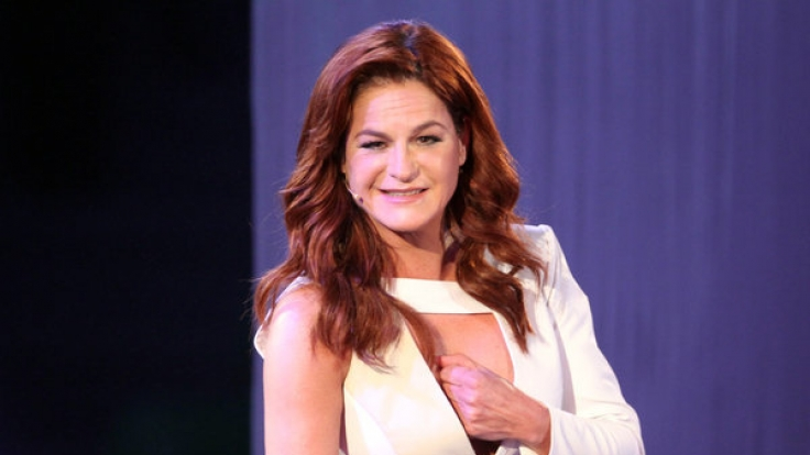 Auch dieses Outfit gefällt Andrea-Berg-Fans. (Foto)