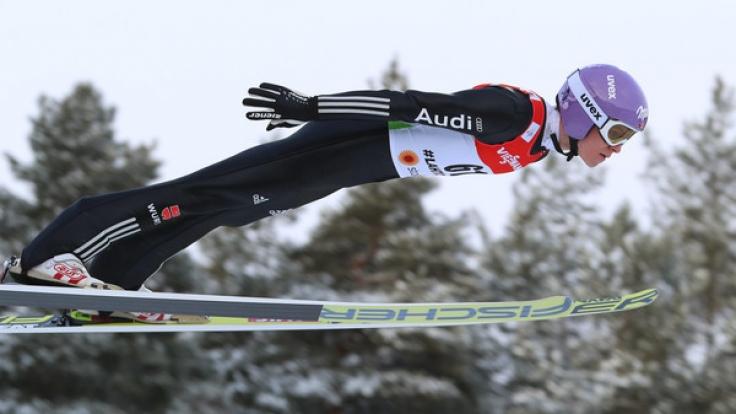DSV-Springer Andreas Wellinger schnappte sich die Silbermedaille.