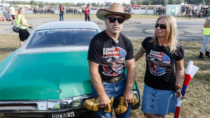 Kult-Auswanderer Konny Reimann und Ehefrau Manu sind ein eingespieltes Team. (Foto)