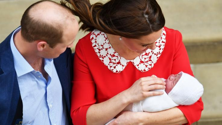 Prinz Louis wurde am23. April im St.-Mary's-Hospital in London geboren. (Foto)