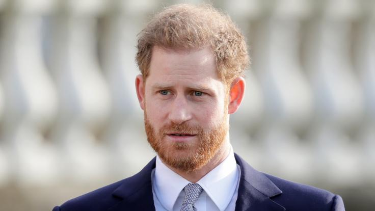 Anlässlich der Beerdigung seines Opas, Prinz Philip, reiste Prinz Harry von den USA nach Großbritannien. Doch wird er auch zum Geburtstag der Queen bleiben? (Foto)