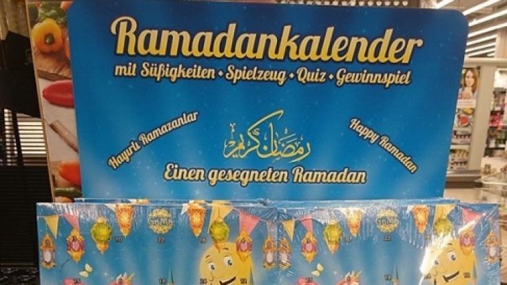 Bei Kaufland gibt's jetzt auch Ramadankalender.