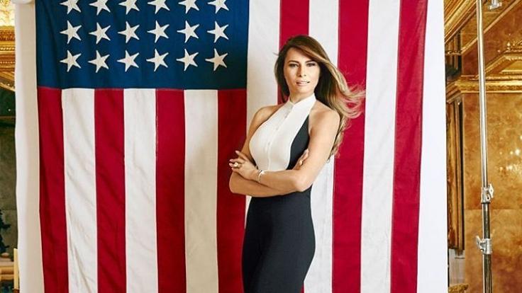 Melania Trump inszeniert sich bereits während des US-Wahlkampfs als First Lady. (Foto)