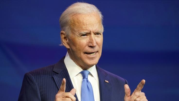 Joe Biden, Gewählter Präsident (President-elect) der USA. (Foto)