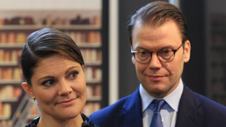 Prinzessin Victoria von Schweden sorgt sich um ihren Mann Prinz Daniel. (Foto)
