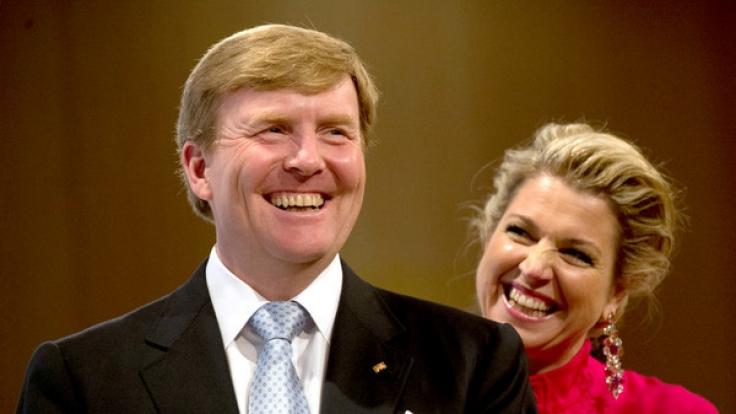 König Willem Alexander und Königin Maxima der Niederlande sind vom 7. bis zum 10. Februar 2017 in Deutschland zu Besuch. (Foto)