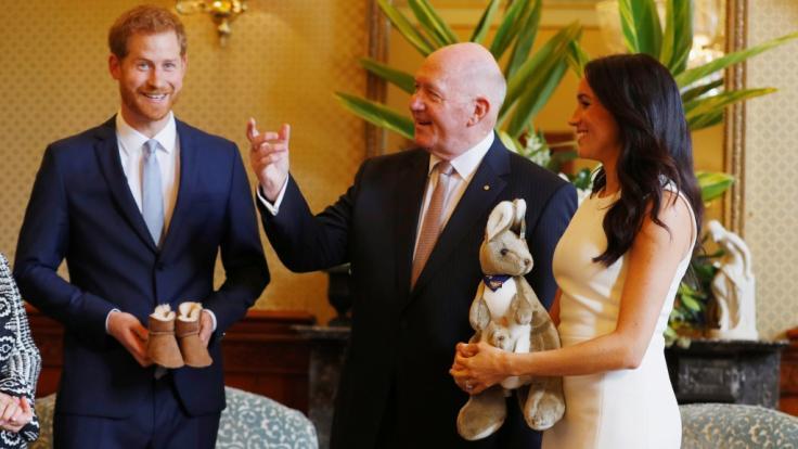 Mit der Nachricht vom Nachwuchs versetzen Herzogin Meghan und Prinz Harry die Australier in Entzücken.