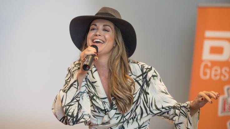 Sängerin Mandy Grace Capristo wird eine ganz besondere Ehre zuteil. (Foto)