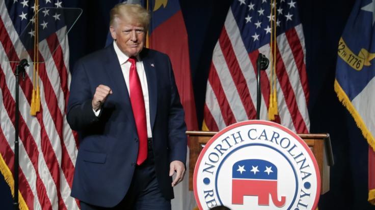 Donald Trump brachte auch in dieser Woche wieder einige Kracher. (Foto)