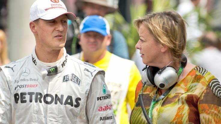 Sabine Kehm ist nicht nur die Managerin von Ex-Formel-1-Weltmeister Michael Schumacher, sondern auch von dessen Sohn Mick Schumacher. (Foto)