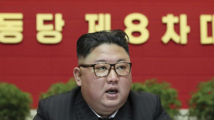 Kim Jong Un droht den USA. (Foto)
