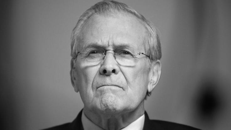 Der frühere US-Verteidigungsminister Donald Rumsfeld ist im Alter von 88 Jahren gestorben. (Foto)