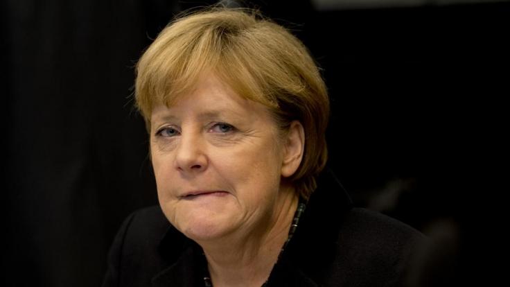 Nackt im Internet: Angela Merkel.
