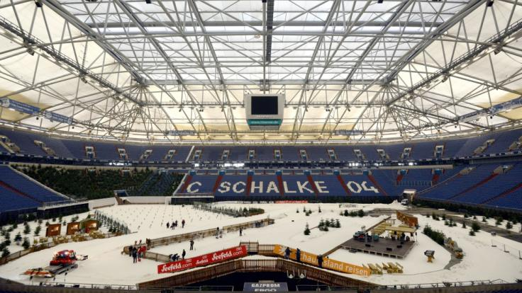 In der Veltins-Arena in Gelsenkirchen findet am 29.12.2018 der Biathlon-WTC 2018 statt. (Foto)
