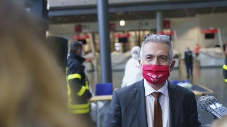 Der Frankfurter Oberbürgermeister Peter Feldmann. (Foto)