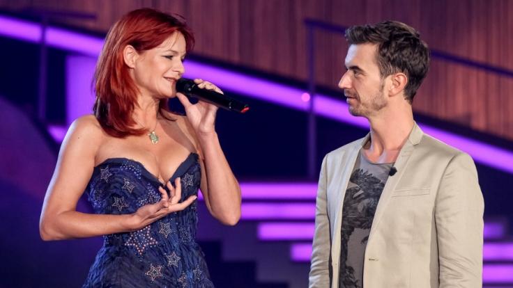 Auch Andrea Berg wird am Samstag mit Moderator Florian Silbereisen auf der Bühne stehen. (Foto)