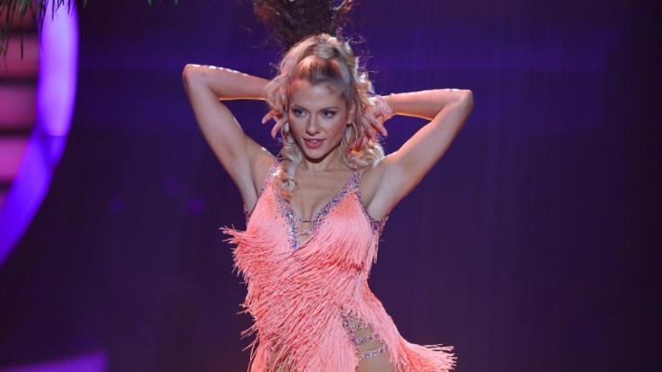 """Valentina Pahde tanzte sich bei """"Let's Dance"""" auf den zweiten Platz. (Foto)"""