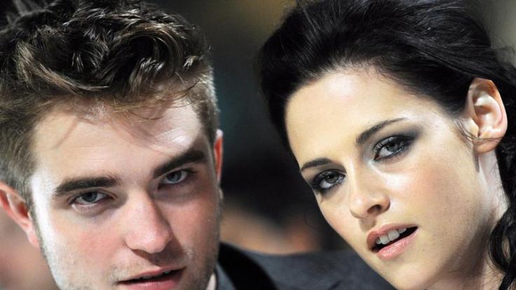 Robert Pattinson und Kristen Stewart standen zum letzten Mal für die Twilight-Saga vor der Kamera. (Foto)
