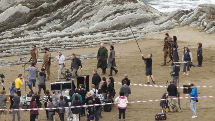 Jon Snow trifft auf Daenerys Targaryen.