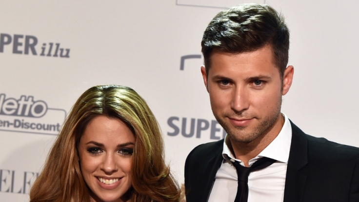 Vanessa Mai und ihr Verlobter Andreas Ferber.