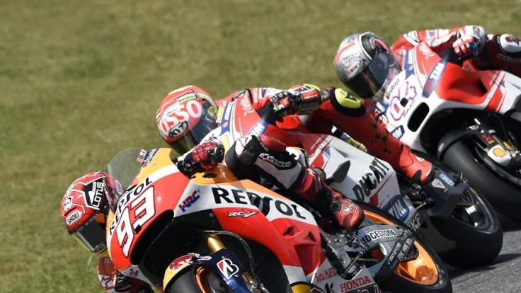 Beim Großen Preis von Katalonien konnte MotoGP-Weltmeister Marc Marquez erneut nicht punkten.
