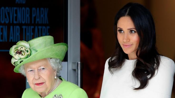 Meghan Markle soll der britischen Königin Elizabeth II. eine Abfuhr erteilt haben. (Foto)